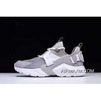 Women/Men Mens And WMNS Nike Air Huarache City Low Atmosphere Grey/White Casual Shoes AH6804-004 Authentic
