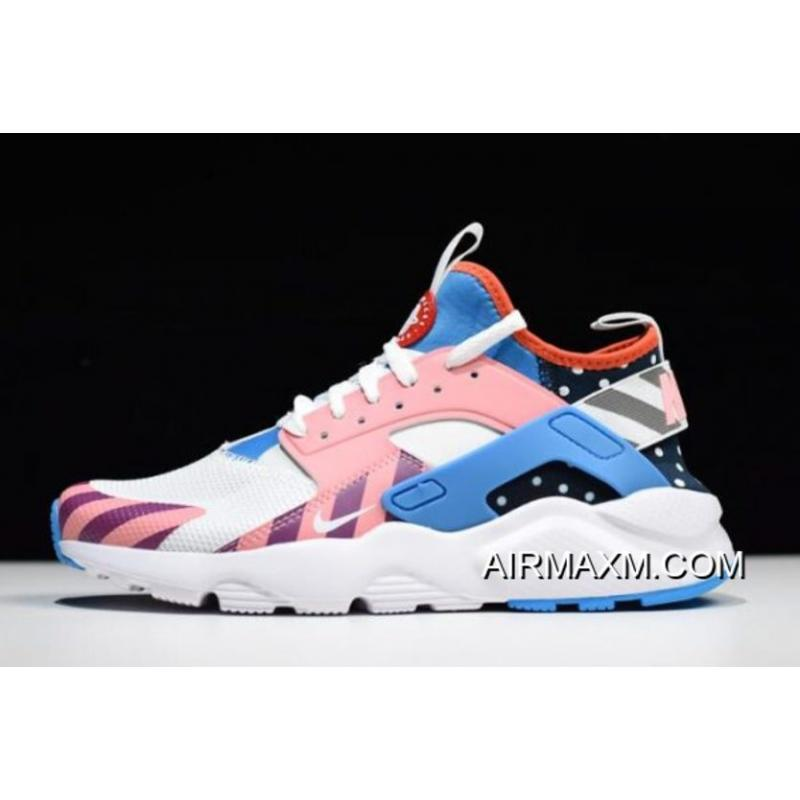 6a4df6b23337 Women Men Best Piet Parra X Nike Air Huarache Run Ultra F F White Multi ...