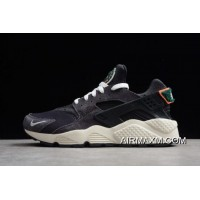 Women/Men Free Shipping Nike Air Huarache Run Premium Olive Grey/Sail-Rainforest-White 704830-105