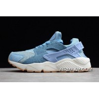 "Women/Men Nike Air Huarache SE ""December Sky"" University Blue/Gum 859429-402 New Year Deals"