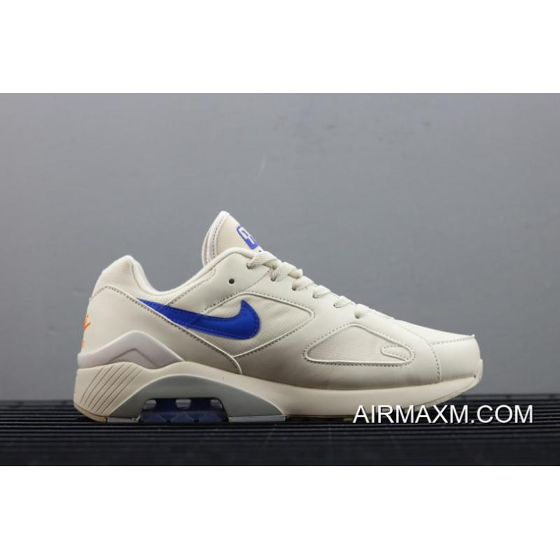 60683f9f527365 ... Men s Nike Air Max 180 Desert Sand Racer Blue-Total Orange AQ9974-002