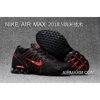 Online Nike Air Max 2018 Black Red Running Shoes