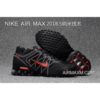 Nike Air Max 2018 Black White Red Running Shoes New Style