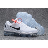 Big Deals Nike Air Max 2018 Leather White Black Running Shoe