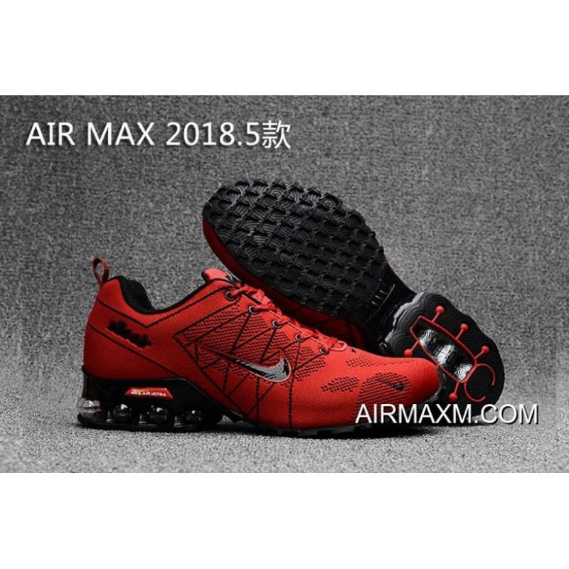 24a8cc3bee Nike Air Max 2018 Red Black Shoes New Year Deals, Price: $67.13 ...