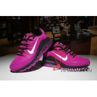 Authentic Nike Air Max 2018 Elite Purpel Black White Women Shoes