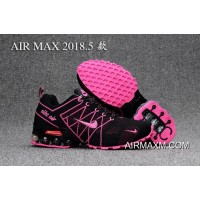 Nike Air Max 2018 Pink Black Women Shoes Authentic