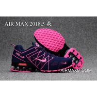 New Release Nike Air Max 2018 Pink DeepBlue Women Shoes