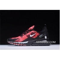 A Bathing APE X Nike Air Max 270 Red Camo Men's Size AH6799-016 Tax Free