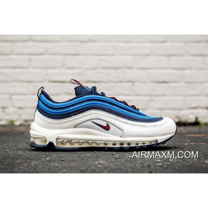 "5b17a5e4f2 ... Nike Air Max 97 SE ""Pull Tab"" Obsidian/University Red-Sail- ..."