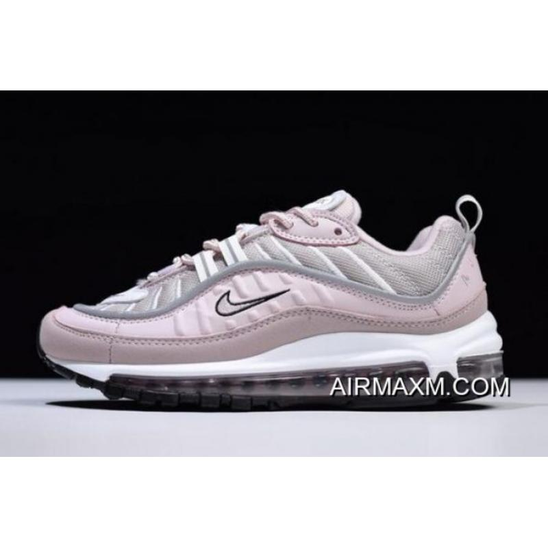 Super Deals Women's Nike Air Max 98 Barely RoseElemental Rose Particle Rose AH6799 600