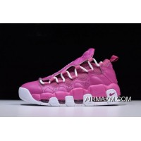 """Women/Men Sneaker Room X Nike Air More Money QS """"Breast Cancer Awareness"""" Think Pink/White AJ7383-600 Where To Buy"""