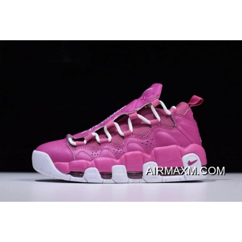 "1ee826d4168 Women Men Sneaker Room X Nike Air More Money QS ""Breast Cancer Awareness""  ..."