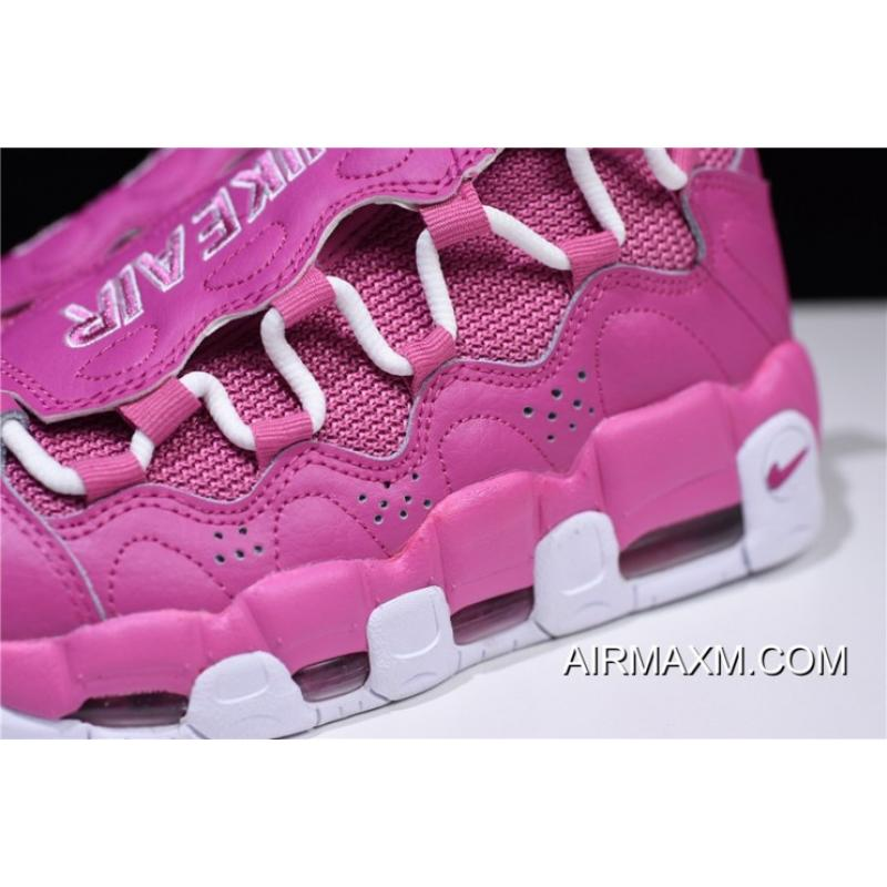 "f2afaab477c ... Women Men Sneaker Room X Nike Air More Money QS ""Breast Cancer Awareness """