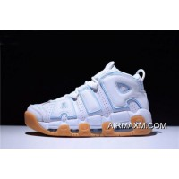 "New Year Deals Men's And Women's Nike Air More Uptempo ""Ocean Bliss"" 415082-107"