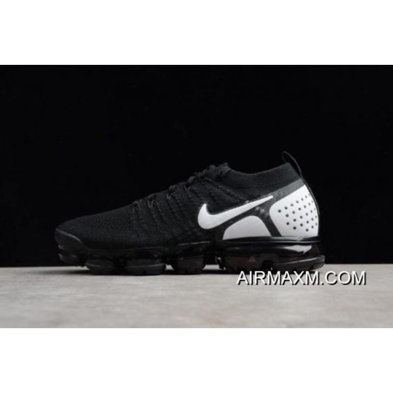 finest selection 3228a 56f22 Nike Air VaporMax Flyknit 2018 2.0 Black/White Men's And Women's Size  842842-010 For Sale