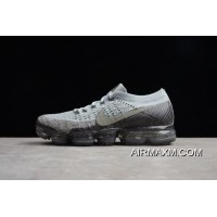 New Release Nike Air Vapor Max 2018 Flyknit Black/Light Grey-Yellow 849558-012