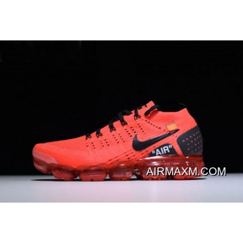 """9b5df743382b New Off-White X Nike Air Vapormax Flyknit 2.0 """"Gym Red"""" Men's Size ..."""