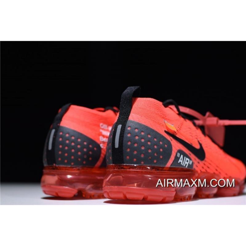 """38f0ae9b374 New Off-White X Nike Air Vapormax Flyknit 2.0 """"Gym Red"""" Men s Size ..."""