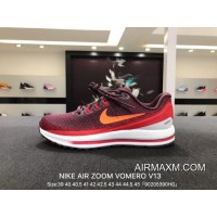 Nike Air Zoom Vomero V13 Series Lunarepic Red Wine Size 922908-600 Discount