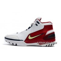 "Nike Air Zoom Generation ""First Game"" White/Midnight Navy-Varsity Crimson 941911-100 Top Deals"