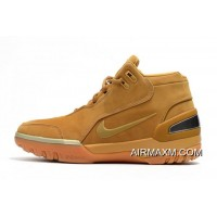"New Style Nike Air Zoom Generation ASG QS ""Wheat"" Wheat Gold/Metallic Gold AQ0110-700"