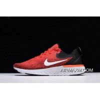 Men's Nike Odyssey React Habanero Red/Black-White Running Shoes AO9819-600 New Style