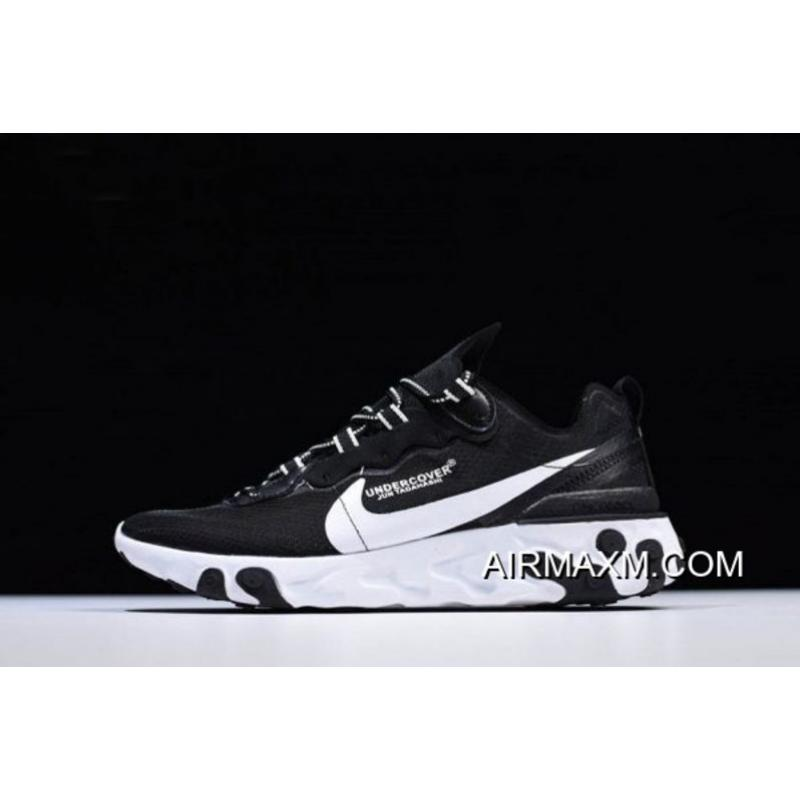 9cd9f30f85b Undercover X Nike Epic React Element 87 Black White Men s And Women s Size  AQ1813-337 ...