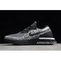 """New Style Nike Epic React Flyknit """"Cookies And Cream"""" AQ0067-011"""