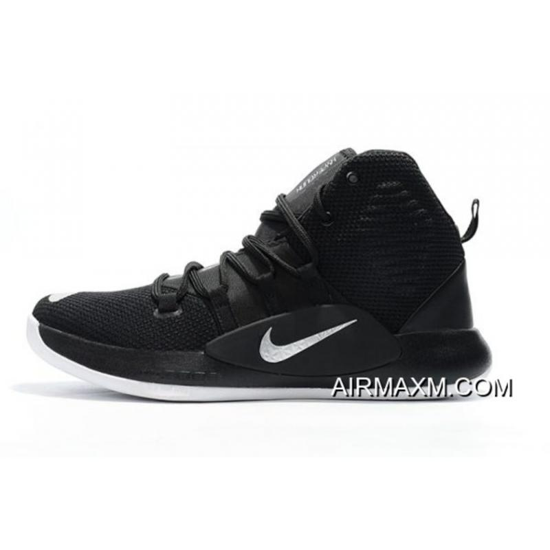 official photos 363b1 3241a Men s Nike Hyperdunk X 2018 Black Silver White Basketball Shoes New Style  ...