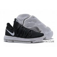 Where To Buy Nike KD 10 Black White