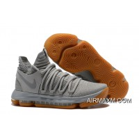 Big Deals Nike KD 10 Pale Grey/Light Bone-Gum