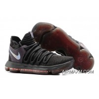 Nike KD 10 MVP Black Silver Red Top Deals