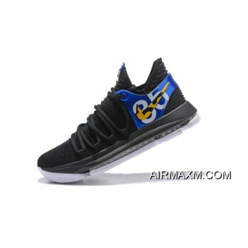 """1d60785265bb Nike KD 10 """"Blinders"""" Men s Basketball Shoes New Style ..."""