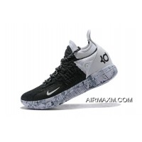 """best service 74d38 9c8f8 New Style Nike KD 11 """"BHM"""" Black White-White Marble Basketball Shoes"""