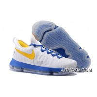 Latest Men Nike Zoom KD 9 Basketball Shoe SKU:124707-383