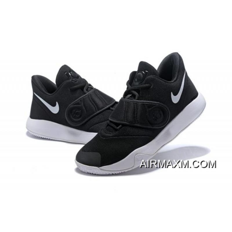 Nike KD Trey 5 VI Black White Men s Basketball Shoes Online ... f64b16dea