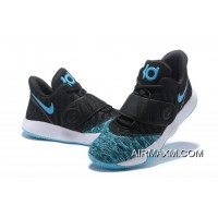 Nike KD Trey 5 VI Black/Blue-White Men's Basketball Shoes Free Shipping