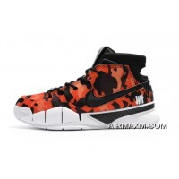 """New Year Deals Undefeated X Nike Zoom Kobe 1 Protro """"Red Camo"""" Men's Shoes"""
