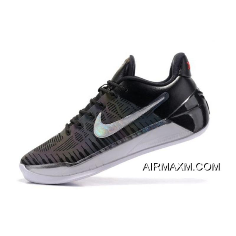 "268d26c792b Top Deals Nike Kobe A.D. ""Chameleon"" Black Metallic Silver-White Free  Shipping ..."