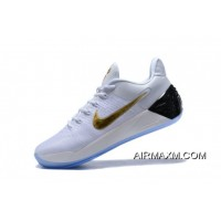 Nike Kobe A.D. White/Metallic Gold-Black Outlet