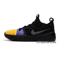 Kobe Bryant Nike Kobe AD Black/Yellow-Purple Where To Buy