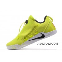 Nike Kobe AD NXT Volt/White-Black 916832-710 Free Shipping New Year Deals