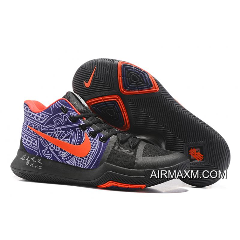 "ae1be3ad5705 ... Newest Nike Kyrie 3 Kyrie Irving s ""Hamsa Hand"" Tattoo Men s Basketball  Shoes Online ..."