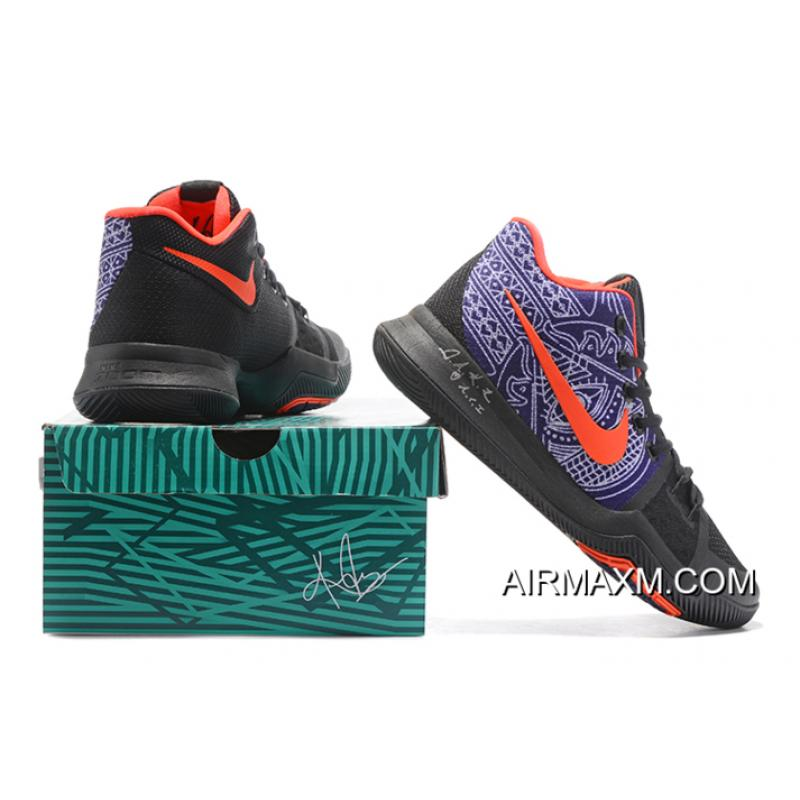 """c71b0f320f13 ... Newest Nike Kyrie 3 Kyrie Irving s """"Hamsa Hand"""" Tattoo Men s Basketball  Shoes Online ..."""