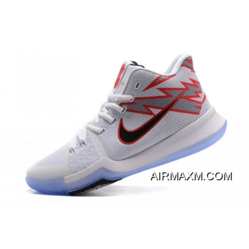 """1c37a18356e Men s Nike Kyrie 3 """"Greased Lightning"""" PE Basketball Shoes New Release ..."""
