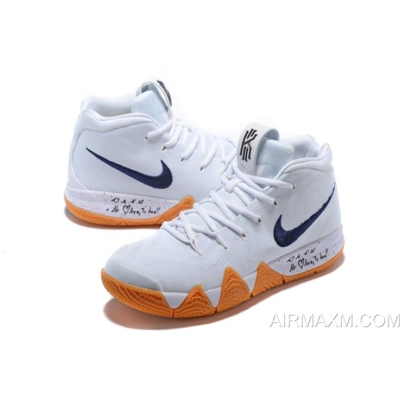 new product 413e9 58348 ... italy new release nike kyrie 4 uncle drew white gum mens basketball  shoes aq8623 2f89e e2249