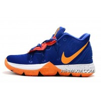 Tax Free Nike Kyrie 5 Royal Blue/Orange-White