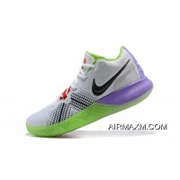 Discount Men's Nike Kyrie Flytrap White/Black/Red/Purple/Green Shoes Free Shipping