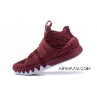 Nike Kyrie S1 Hybrid Wine Red/White Super Deals